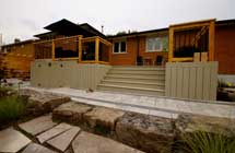 Composite deck design and construction in toronto